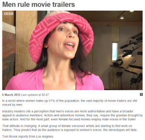 Men rule movie trailers